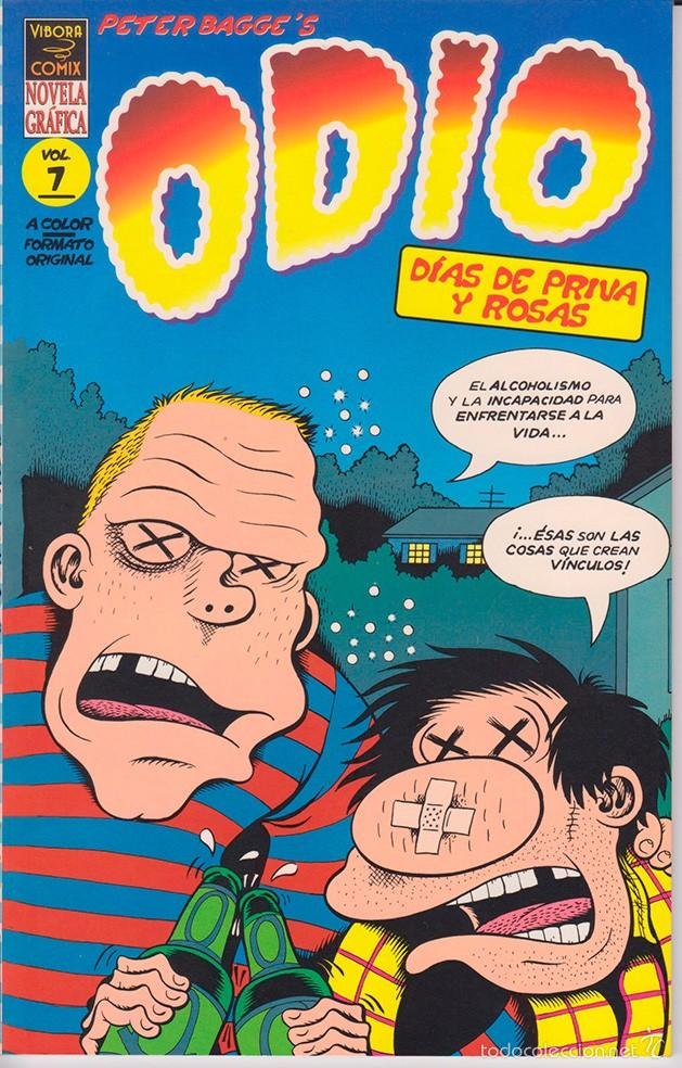 PETER BAGGE - ODIO VOL. 7 - CÓMIC [50 PÁGINAS] (Tebeos y Comics - La Cúpula - Comic USA)