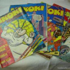 Cómics: MAKOKI EDICIONES LA CUPULA 1982 - COMIX PATI PATUPRIMO - 5 NUMEROS DEL 1 AL 5. Lote 58191374