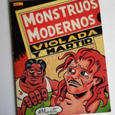 Cómics: MONSTRUOS MODERNOS, DE MARTÍ. HISTORIAS CORTAS COMPLETAS.. Lote 58209880