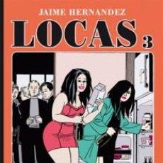 Cómics: CÓMICS. LOCAS 03 - JAIME HERNANDEZ. Lote 58219366