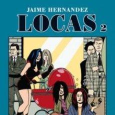 Cómics: CÓMICS. LOCAS 02 - JAIME HERNANDEZ. Lote 100544163