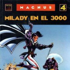 Cómics: VÍBORA COMIX - MAGNUS Nº 4 – MILADY EN EL 3000 – CUPULA 1990. Lote 58474915