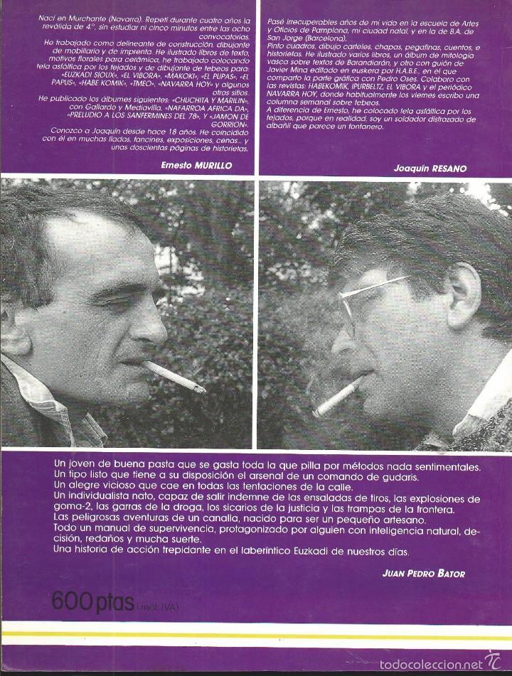Cómics: EL ZESTAS. EL VÍBORA SERIES. ED. LA CUPULA. MURILLO / RESANO - Foto 2 - 58543274