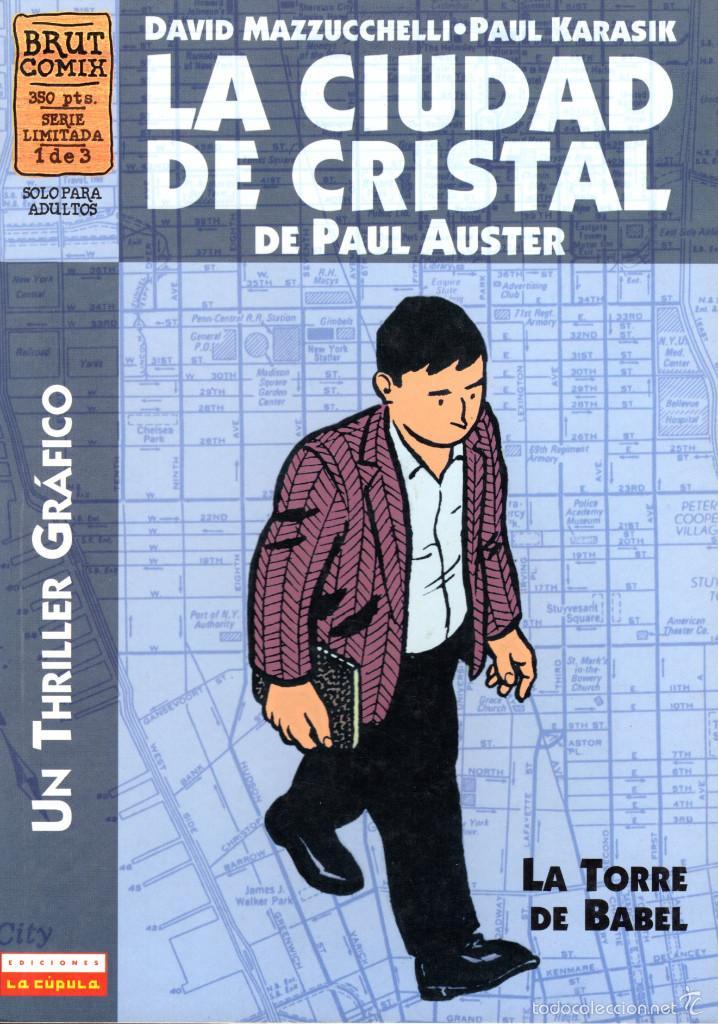 La Ciudad De Cristal De Paul Auster David Mazz Sold Through Direct Sale 58553243