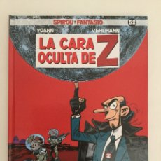 Cómics: SPIROU Y FANTASIO 52. LA CARA OCULTA DE Z - YOANN & VEHLMANN - DIBBUKS. Lote 59580856