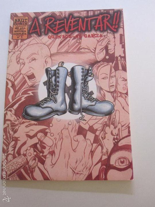 A REVENTAR Nº 1 QUIM BOU Y AL GARCIA. LA CÚPULA 1996 E11 (Tebeos y Comics - La Cúpula - Autores Españoles)