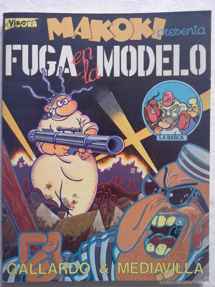 MAKOKI - FUGA EN LA MODELO - GALLARDO Y MEDIAVILLA - EDICIONES LA CUPULA (Tebeos y Comics - La Cúpula - Autores Españoles)