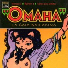 Cómics: OMAHA: LA GATA BAILARINA -REED WALLER Y KATE WORLEY -NÚM. 1, 2 Y 3 -LA CÚPULA. Lote 61117319
