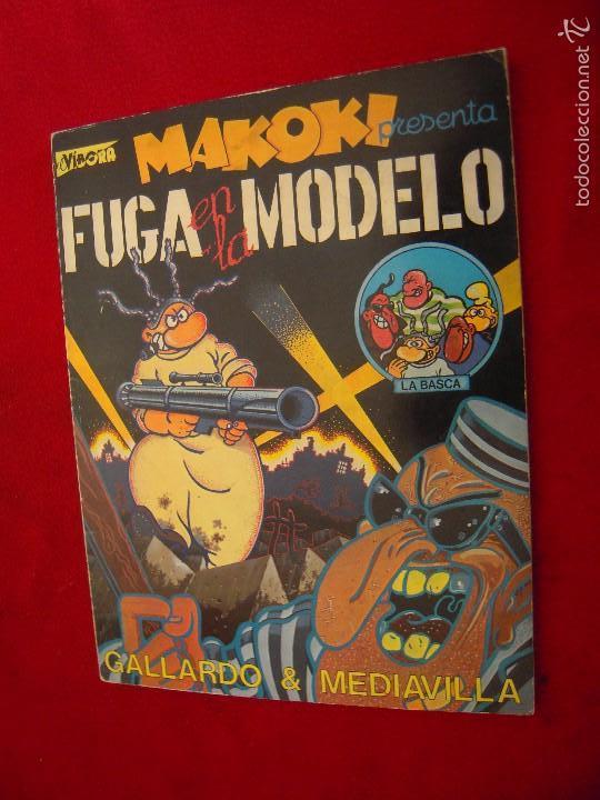 MAKOKI - FUGA EN LA MODELO - GALLARDO & MEDIAVILLA - RUSTICA (Tebeos y Comics - La Cúpula - Autores Españoles)