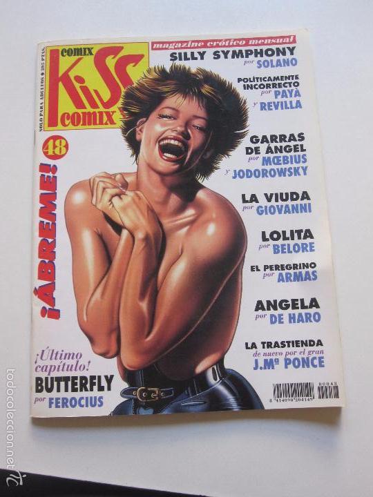 KISS COMIX - Nº 48 - MAGAZINE ERÓTICO MENSUAL LA CUPULA C75 (Tebeos y Comics - La Cúpula - Comic Europeo)