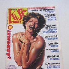 Cómics: KISS COMIX - Nº 48 - MAGAZINE ERÓTICO MENSUAL LA CUPULA C75. Lote 61257803