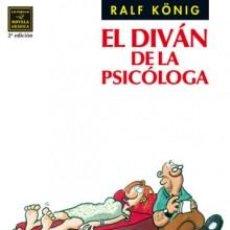 Cómics: CÓMICS. EL DIVÁN DE LA PSICÓLOGA - RALF KÖNIG. Lote 61509047