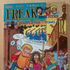 Cómics: FREAK BROTHERS - OBRAS COMPLETAS TOMO 1 (EN BYN) / - MAKOKI - LA CÚPULA / 1983. Lote 61664828