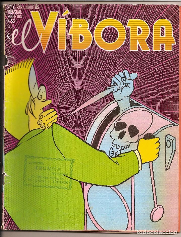 EL VÍBORA Nº 53 (Tebeos y Comics - La Cúpula - El Víbora)
