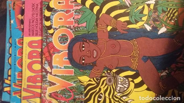 EL VIBORA, 60, 140, 191, 276 (Tebeos y Comics - La Cúpula - El Víbora)