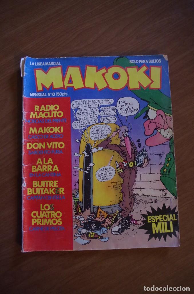 MAKOKI Nº 10 ESPECIAL MILI (Tebeos y Comics - La Cúpula - Autores Españoles)