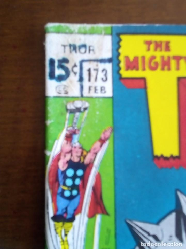 Cómics: THOR N 173 USA AÑO 1970 L4P3 - Foto 2 - 65057803