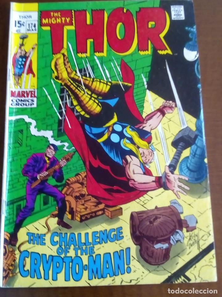 THOR N 174 USA AÑO 1970 L4P3 (Tebeos y Comics - La Cúpula - Comic USA)