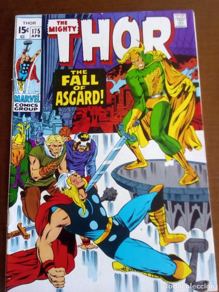 THOR N 175 USA AÑO 1970 L4P3 (Tebeos y Comics - La Cúpula - Comic USA)