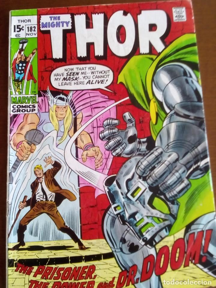 THOR N 182 USA AÑO 1970 L4P3 (Tebeos y Comics - La Cúpula - Comic USA)