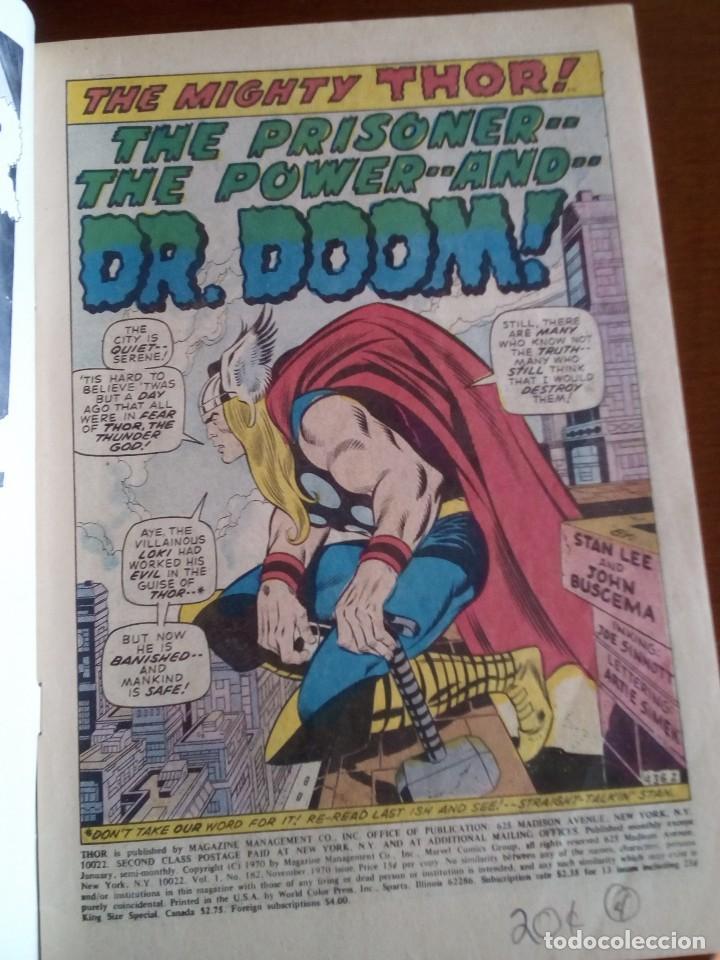 Cómics: THOR N 182 USA AÑO 1970 L4P3 - Foto 3 - 65065827