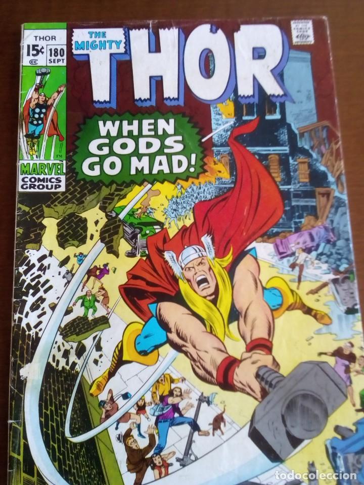 THOR N 180 USA AÑO 1970 L4P3 (Tebeos y Comics - La Cúpula - Comic USA)