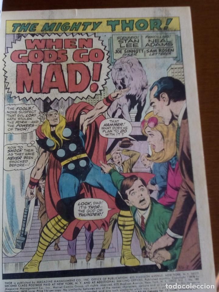 Cómics: THOR N 180 USA AÑO 1970 L4P3 - Foto 3 - 65074655