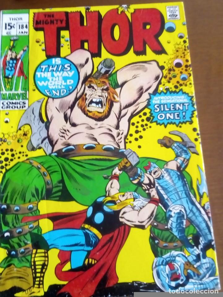 THOR N 184 USA AÑO 1970 L4P3 (Tebeos y Comics - La Cúpula - Comic USA)