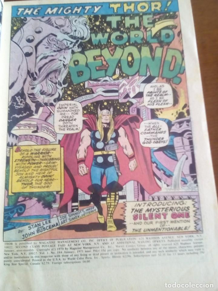 Cómics: THOR N 184 USA AÑO 1970 L4P3 - Foto 3 - 65077879