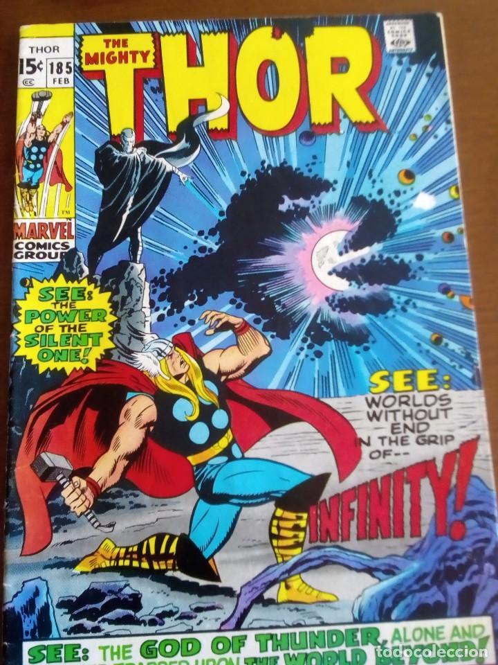 THOR N 185 USA AÑO 1970 L4P3 (Tebeos y Comics - La Cúpula - Comic USA)