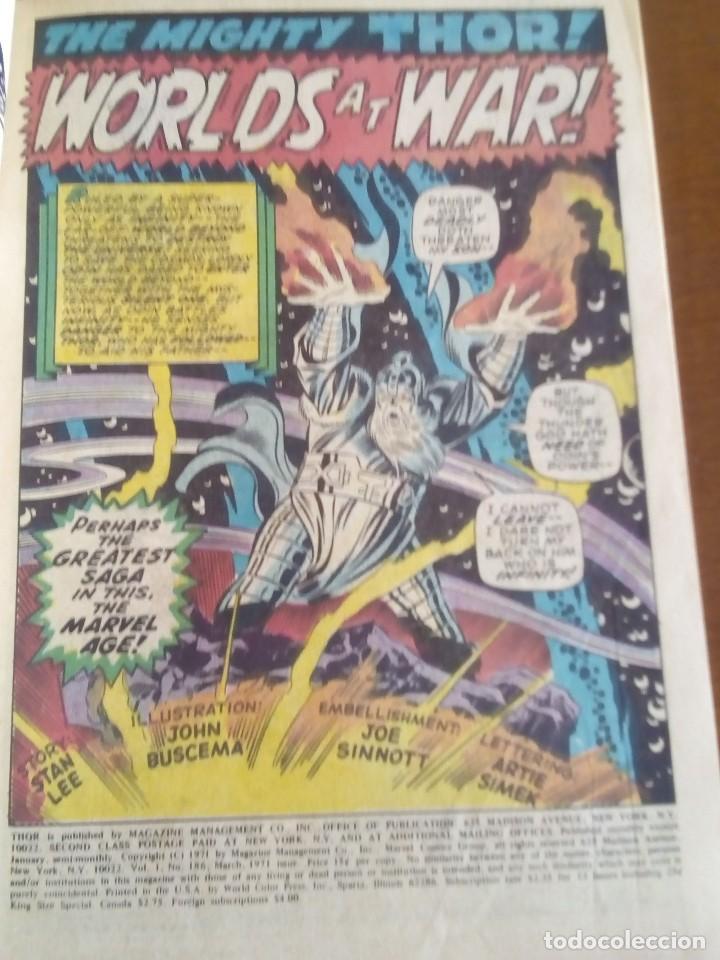 Cómics: THOR N 185 USA AÑO 1970 L4P3 - Foto 3 - 65080119