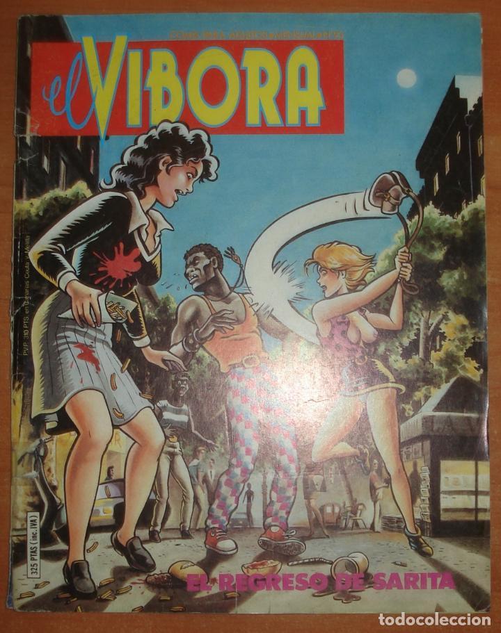 EL VIBORA Nº 93. GALIANO. ONLIYU. MAGNUS. BALAGUER. MAX. BETO HERNANDEZ. EDICIONES LA CÚPULA. (Tebeos y Comics - La Cúpula - El Víbora)