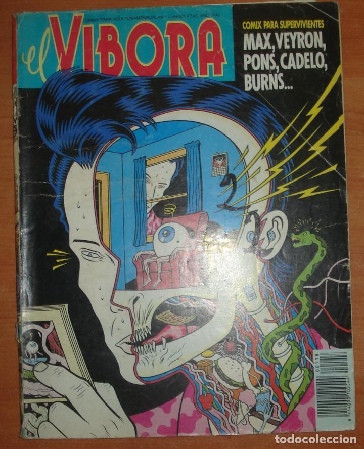 EL VIBORA Nº 118. MAX. VEYRON. PONS. CADELO. BURNS. EDICIONES LA CÚPULA. (Tebeos y Comics - La Cúpula - El Víbora)