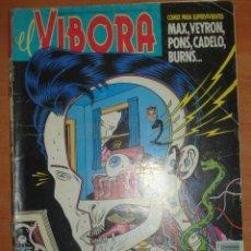 Cómics: EL VIBORA Nº 118. MAX. VEYRON. PONS. CADELO. BURNS. EDICIONES LA CÚPULA.. Lote 65944686