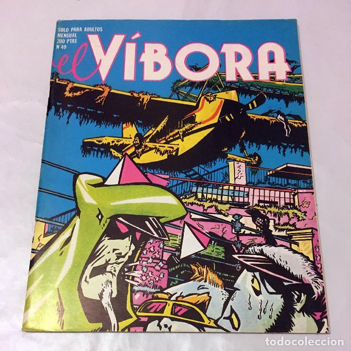 EL VIBORA NUMERO NUMERO 49 REVISTA COMIC EROTICO TRANSGRESOR HUMOR ACIDO EROTISMO TEBEO PARA ADULTOS (Tebeos y Comics - La Cúpula - El Víbora)