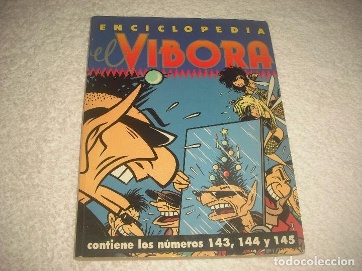 EL VIBORA , ENCICLOPEDIA N° 143, 144 Y 145 (Tebeos y Comics - La Cúpula - El Víbora)
