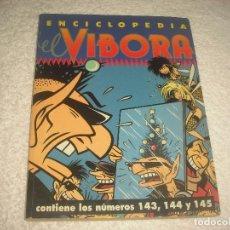 Cómics: EL VIBORA , ENCICLOPEDIA N° 143, 144 Y 145. Lote 69953653