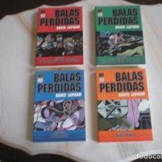 Cómics: BALAS PERDIDAS. EDICIÓN EN TOMO. Nº 1 AL 4. COMPLETA. Lote 114135346