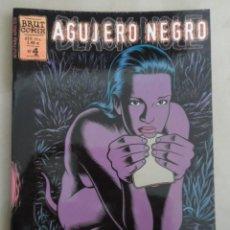 Cómics: AGUJERO NEGRO Nº 4 DE 12 - POSIBLE ENVÍO GRATIS - BRUT COMIX - LA CÚPULA - CHARLES BURNS. Lote 71487271