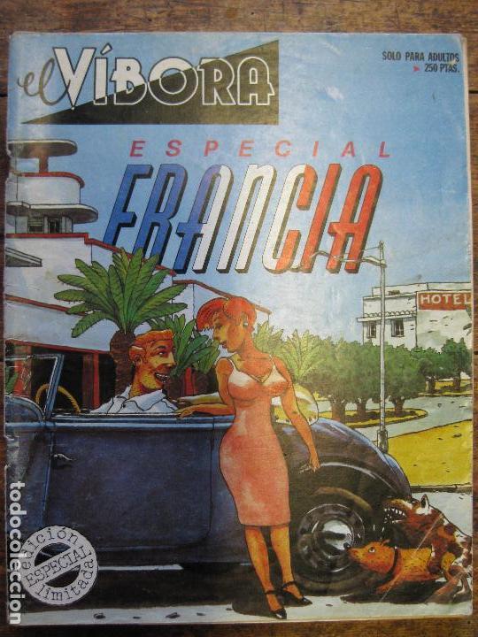 EL VIBORA - ESPECIAL FRANCIA (Tebeos y Comics - La Cúpula - El Víbora)