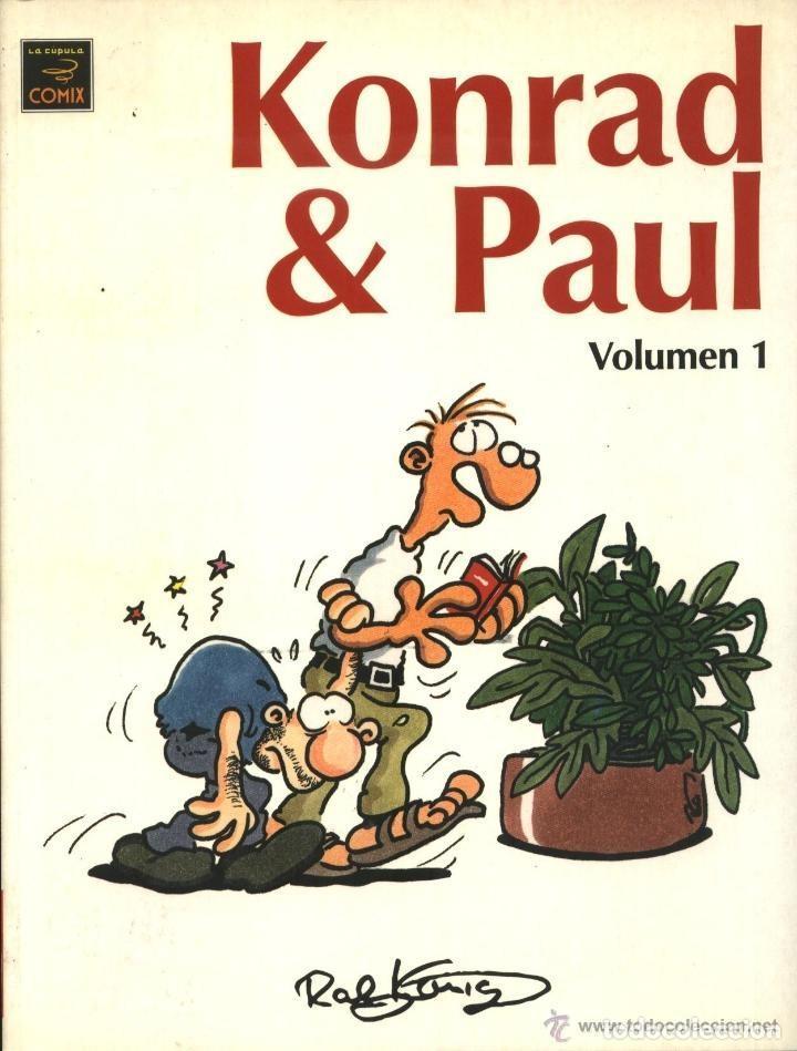 KONRAD & PAUL VOL. 1 (RALF KONIG) - LA CUPULA - IMPECABLE (Tebeos y Comics - La Cúpula - Comic Europeo)