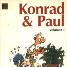 Cómics: KONRAD & PAUL VOL. 1 (RALF KONIG) - LA CUPULA - IMPECABLE. Lote 73720191