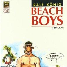 Cómics: BEACH BOYS (RALF KONIG) - LA CUPULA - IMPECABLE. Lote 73720791