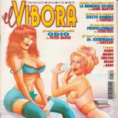 Cómics: COMIC - EL VÍBORA - Nº 180 ED. LA CÚPULA - COMIX PARA ADULTOS. Lote 73841403