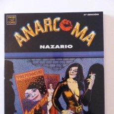 Cómics: ANARCOMA - NAZARIO - EDICION Nº4 1994. Lote 74980235