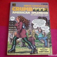 Cómics: AMERICAN SPLENDOR OBRAS COMPLETAS 12 (ROBERT CRUMB HARVEY PEKAR ) ¡MUY BUEN ESTADO! LA CUPULA VIBORA. Lote 75294879