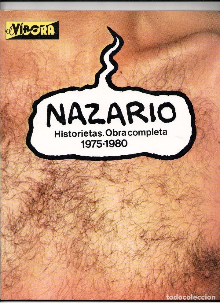 NAZARIO HISTORIETAS.OBRA COMPLETA 1975-1980 (Tebeos y Comics - La Cúpula - Autores Españoles)