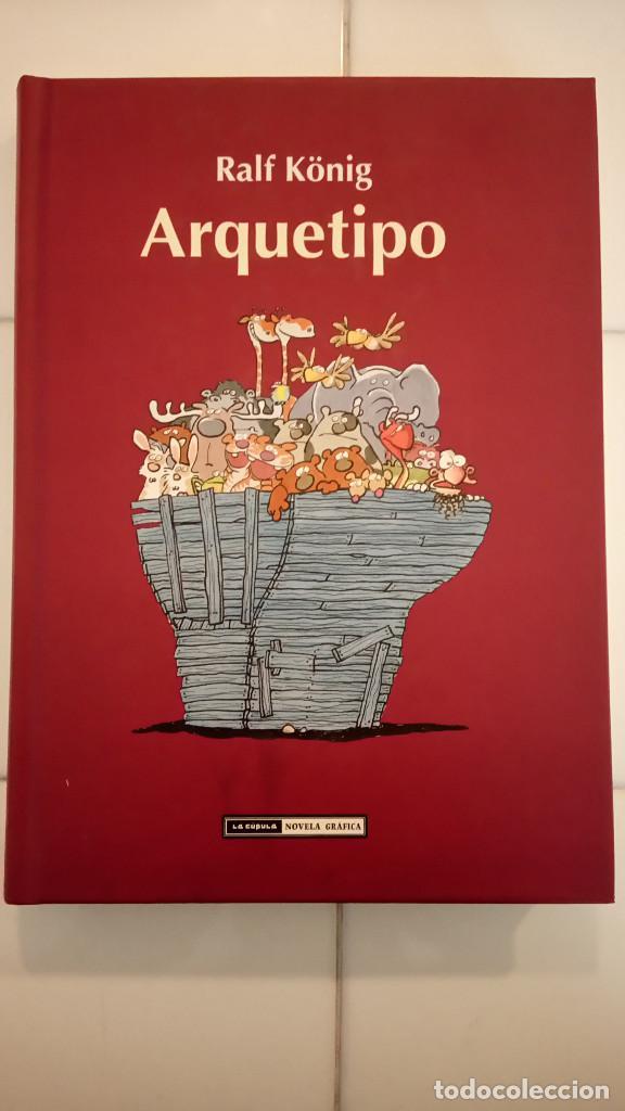 ARQUETIPO DE RALF KÖNIG (Tebeos y Comics - La Cúpula - Comic Europeo)
