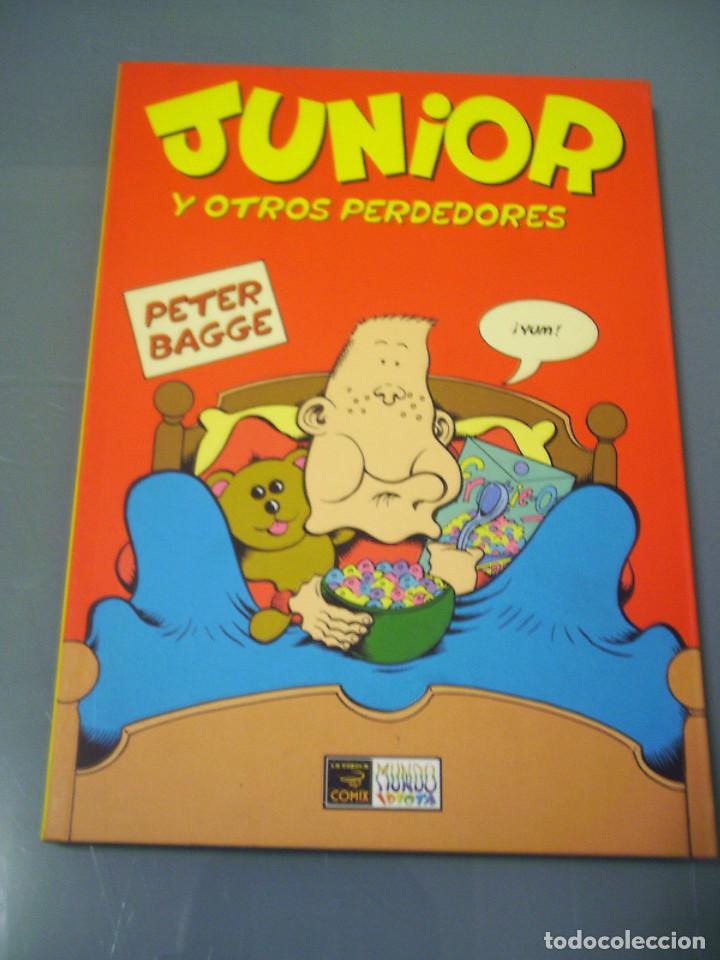 JUNIOR - PETER BAGGE. (Tebeos y Comics - La Cúpula - Comic USA)