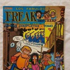 Cómics: LOS FABULOSOS FREAK BROTHERS OBRAS COMPLETAS TOMO 1. Lote 79757365